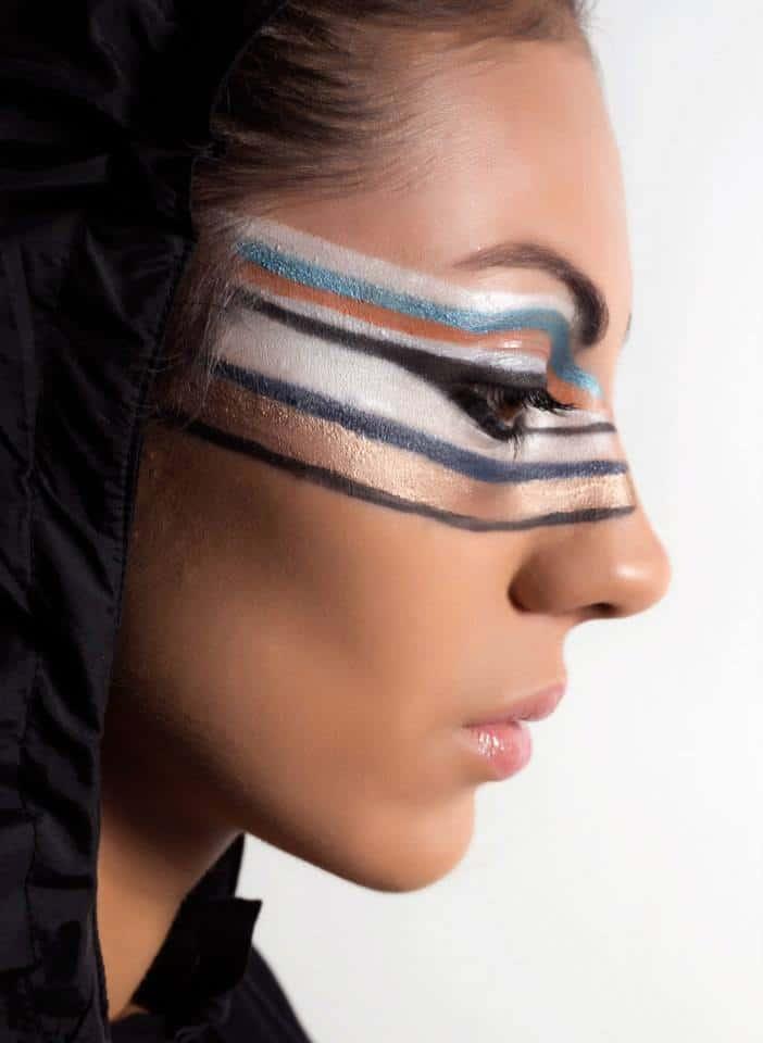 μακιγιαζ για φωτογραφιση χρωμα